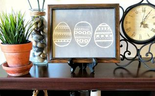 free spring printable black and white or chalkboard, crafts, easter decorations, seasonal holiday decor