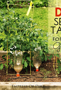 how to prevent garden problems with tissue, container gardening, gardening, how to, raised garden beds