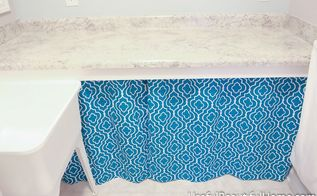 easy diy grommet curtain, laundry rooms, storage ideas, reupholster
