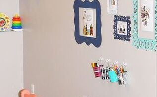 lucy s art center, bedroom ideas, chalkboard paint, painted furniture
