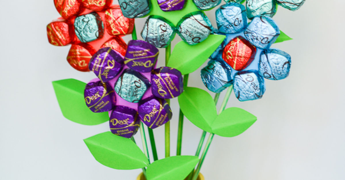 Easy Mother S Day Spring Chocolate Bouquet Hometalk