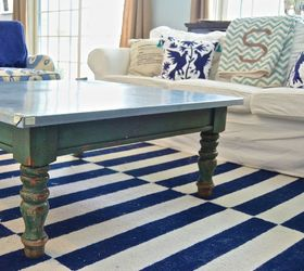 Knock Out Navy Coffee Table Hometalk