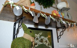 easter garland from cans, crafts, easter decorations, how to, repurposing upcycling, seasonal holiday decor