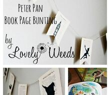 diy book page decor, bedroom ideas, crafts, how to, wall decor