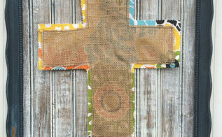 upcycled frame becomes easter decor with diy distressed wood, crafts, easter decorations, repurposing upcycling, seasonal holiday decor