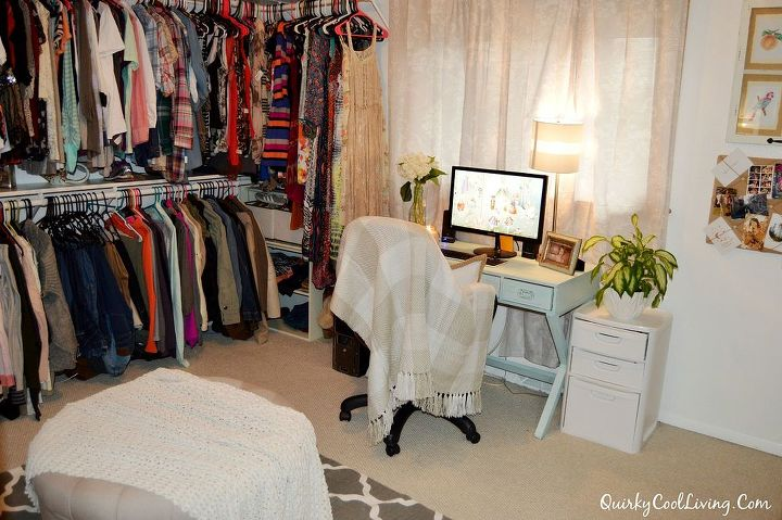Spare Bedroom Turned Walk In Closet Hometalk
