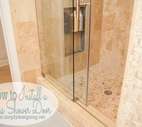 how to install a new shower door bathroom ideas diy home improvement