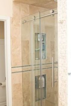 how to install a new shower door, bathroom ideas, diy, home improvement, how to