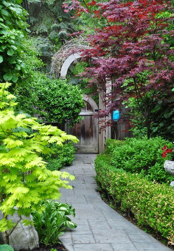Gardening ideas for the narrow garden between suburban for Suburban garden design ideas