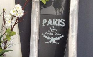 ville de paris vintage window, crafts, how to, repurposing upcycling, windows