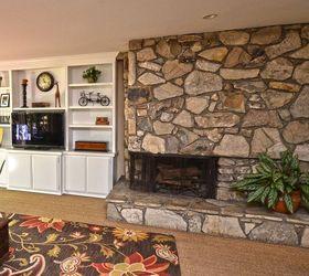 Idea for quick fireplace update | Hometalk
