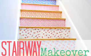 staircase makeover, how to, repurposing upcycling, stairs