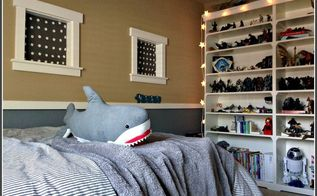 big boy bedroom reveal with ikea, bedroom ideas, organizing, shelving ideas, storage ideas
