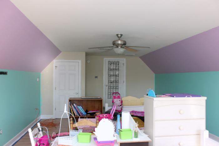 little mermaid bedroom makeover hometalk