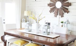 spring dining room before and after, dining room ideas, wall decor