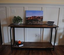 diy sofa table from creative upcycled item, diy, painted furniture, repurposing upcycling
