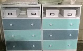 twins and using a heat gun, painted furniture, repurposing upcycling