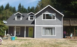 before and after exterior house paint, curb appeal, painting