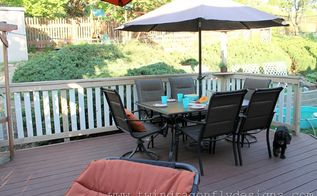 complete deck makeover with behr deck over paint, decks, outdoor living, painting, patio