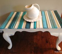 salvaged molding coffee table top, painted furniture, repurposing upcycling