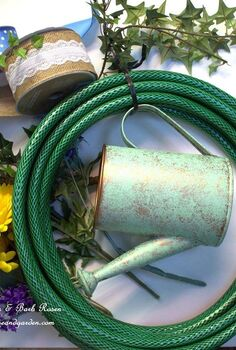 diy garden hose wreaths from our fairfield home garden, crafts, gardening, how to, repurposing upcycling, wreaths, Hose Wreath Materials