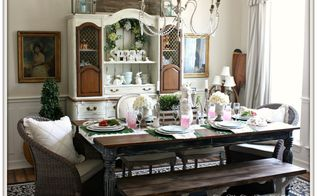 Spring Easter Dining Room Ideas Decorations Seasonal Holiday Decor