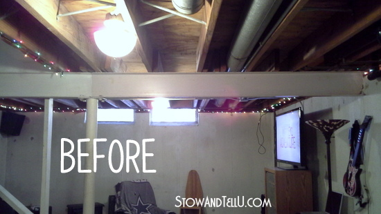Painted Wood Ceilings Before And After