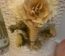 perfect potpourri container, crafts, flowers, repurposing upcycling