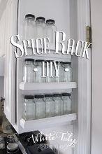 spice rack diy, diy, kitchen cabinets, kitchen design, organizing, storage ideas