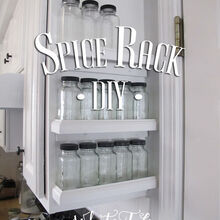 spice rack diy, diy, kitchen cabinets, kitchen design, organizing, storage ideas