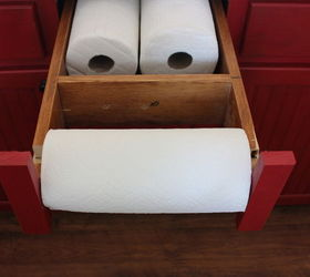 Under Counter Paper Towel Holder, Kitchen Cabinets, Kitchen Design, Kitchen  Island, Organizing