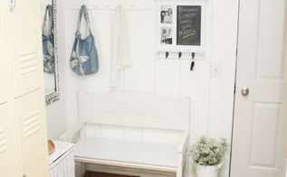 mudroom makeover cottage fresh style, closet, foyer, shelving ideas, storage ideas