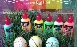 diy glow in the dark easter egg hunt, crafts, easter decorations, how to, repurposing upcycling, seasonal holiday decor