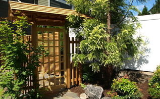 japanese garden in portland, concrete masonry, fences, gardening, landscape, outdoor living, Japanese Garden Gate