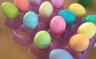 tips and tricks for coloring easter eggs, crafts, easter decorations, how to, repurposing upcycling, seasonal holiday decor