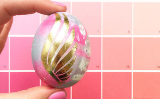 flash tattoo easter eggs, crafts, decoupage, easter decorations, how to, repurposing upcycling