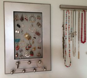 DIY Jewelry Holder Hometalk