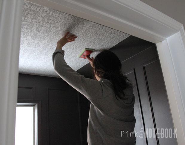 Textured Coloured Ceilings In The Bathroom Hometalk