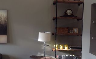 industrial chic shelving, diy, repurposing upcycling, shelving ideas