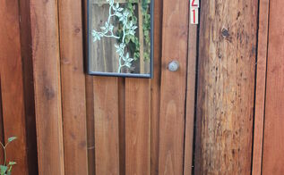 faux garden door, crafts, doors, fences, gardening, how to, repurposing upcycling