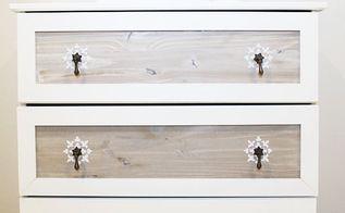 ikea tarva dresser hack makeover, painted furniture, shabby chic