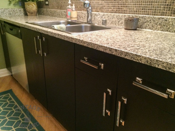 Gel Staining Kitchen Cabinets | Hometalk
