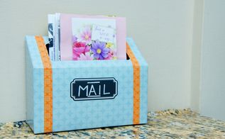 diy indoor mail station, crafts, how to, organizing, repurposing upcycling