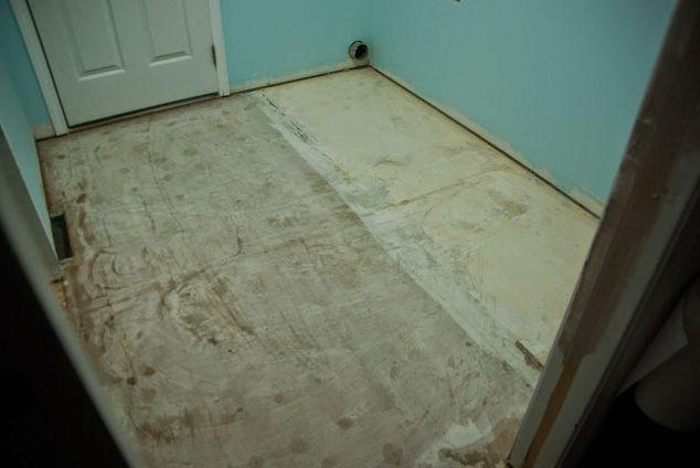 Tiling The Laundry Room Hometalk