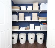 a painted toy closet, closet, organizing, painting, storage ideas