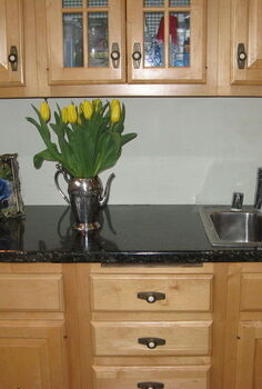 faux counters still look great after 3 years, countertops, how to, kitchen design, Here s what it looked liked after install