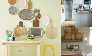 cutting boards as decor, dining room ideas, kitchen design, repurposing upcycling, wall decor