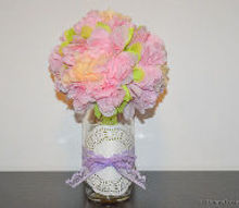 diy mason jar vase, crafts, how to, mason jars, repurposing upcycling