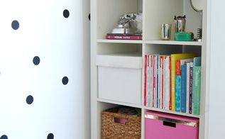 kate spade inspired closet with dollar store supplies, closet, organizing, storage ideas