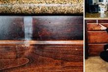 how to remove spots on wood with toothpaste, cleaning tips, how to, painted furniture, repurposing upcycling